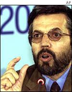 Юнис Кануни, глава делегации Северного альянса