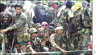 Rebels leave Zamboanga
