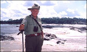 Col Blashford-Snell at the Esperanza Rapids in South America