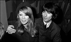 He married model Pattie Boyd in 1966 - and wrote the song Something about her