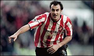Daniel Dichio playing for Sunderland