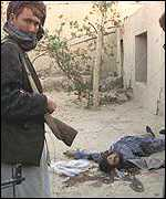 Body of pro-Taleban prisoner