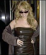 Mariah Carey starred in the final show