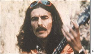 George Harrison asked to have his ashes scattered in India.