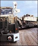 Scammell Commander heavy transporter