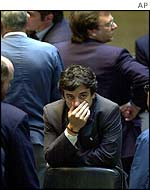 Buenos Aires stock market trader