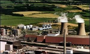 Sellafield's plant in Cumbria