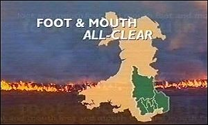 Graphic of foot-amd-mouth disease in Wales