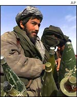 Taleban fighter