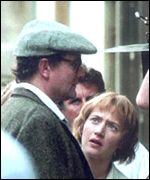 Kate Winslet and Hugh Bonneville
