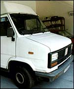 Roy Whiting's van