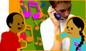Mobile phone ringtones