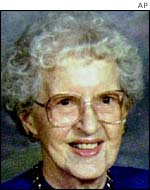 Ottilie Lundgren, 94, who died of anthrax in November