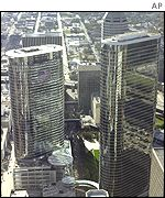 Enron's headquarters in Houston