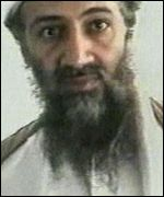 Portrait of Bin Laden