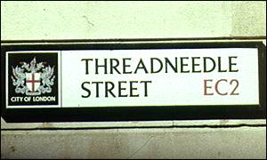 Threadneedle Street sign