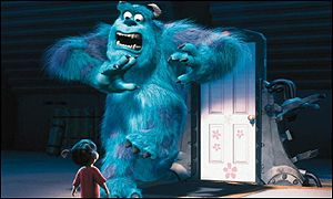3.2 million hairs were individually animated on Sulley