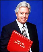 Michael Aspel, presenter of This is Your Life
