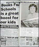Education Secretary, Estelle Morris, in The Sun