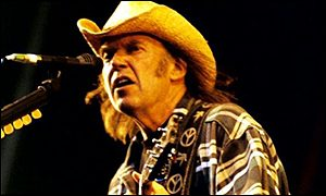 Neil Young was touched by passengers' bravery