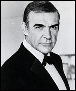 Sean Connery starred as Bond