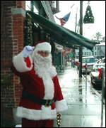 Santa on main street Warwick
