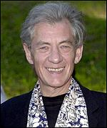 Sir Ian McKellen stars as Gandalf