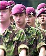 UK Parachute regiment