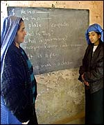 Afghan women return to school