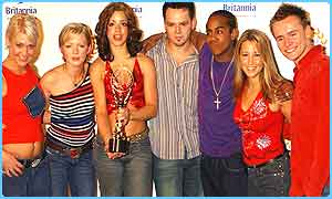S Club 7 won Record of the Year 2001