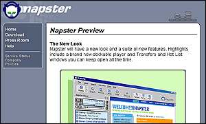 Napster will re-launch early next year
