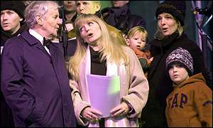 Richard Briers, Linda Nolan and Gemma Redgrave were present