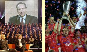 Gerard Houllier guided Liverpool to the treble of FA, UEFA and League cup last season
