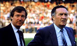 Alex Ferguson and Jock Stein masterminded Scotland's qualification for the 1986 World Cup in Mexico