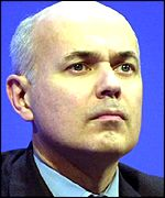 Mr Duncan Smith was addressing a pro-Israeli Tory group