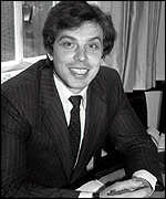 Tony Blair 1982