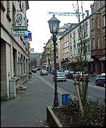 Dudelange high street