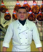 Patric Alves, the butcher