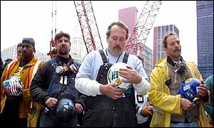 Construction workers at Ground Zero remember the victims