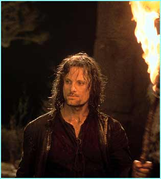 Aragorn played by Viggo Mortensen