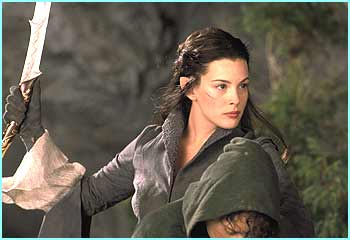 Arwen played by Liv Tyler