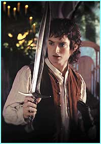 Frodo played by Elijah Wood