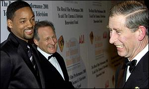 Prince Charles, Will Smith and Michael Mann