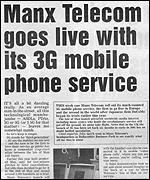 Isle of Man newspaper, BBC