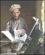 Fighter with captured documents