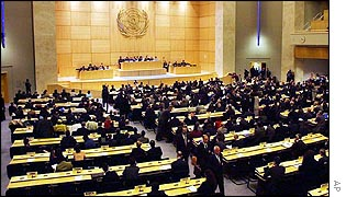 The conference in Geneva