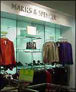 Marks & Spencer store in Delhi