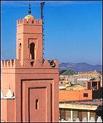 Moroccan skyline
