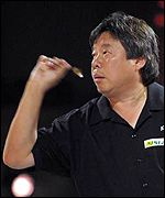 Paul Lim, the only man to achieve a nine-dart checkout in the history of the Embassy World Championship