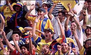 Ecuador fans will be watching their country compete in the World Cup for the first time